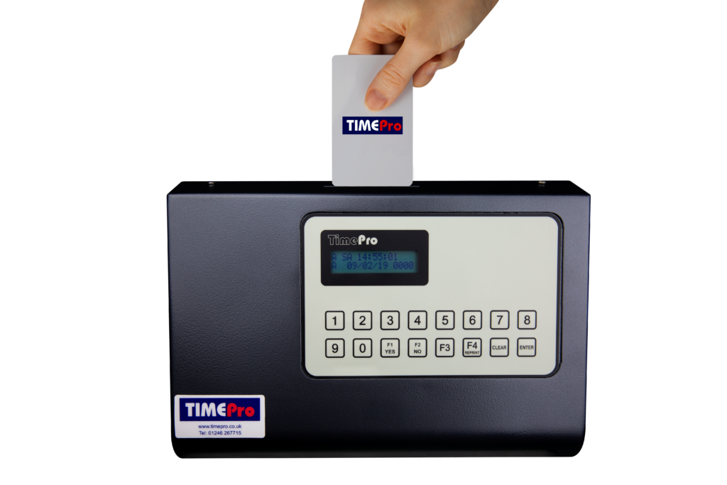 TimePro Job Clocking Terminal with Card